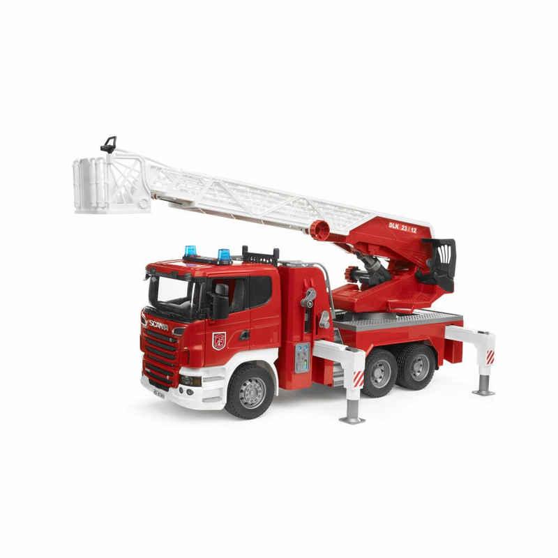 Bruder® Spielzeug-Feuerwehr »Scania R-Serie Leiterwagen«