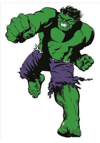 MARVEL Wandtattoo »Comics - Maxi Hulk« (1 vie...