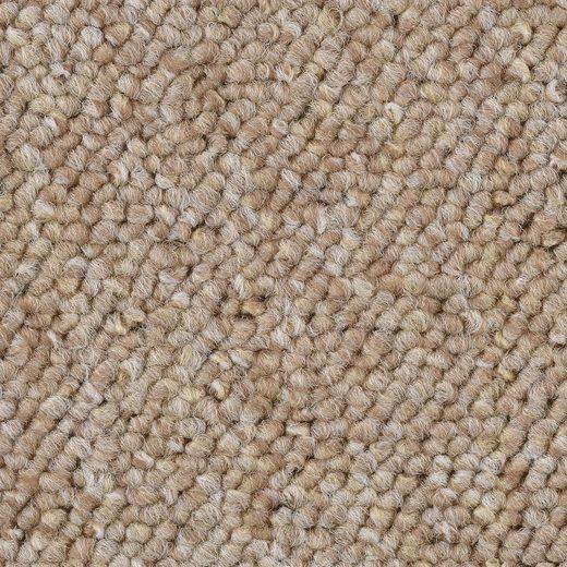 Teppichboden »Schlinge gemustert«, Bodenmeister, rechteckig, Höhe 6 mm, Meterware, Breite 400 cm, Wunschmaßlänge