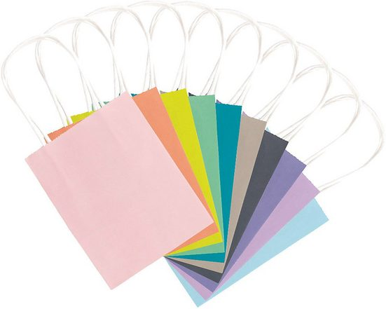 Folia Geschenkpapier »Papiertüten 12 x 15 cm Trend, 20 Stück«