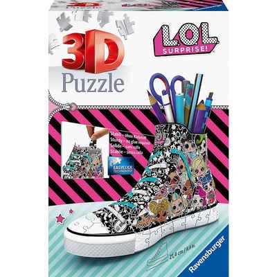 Ravensburger 3D-Puzzle »3D-Puzzle Sneaker - LOL, 108 Teile«, Puzzleteile