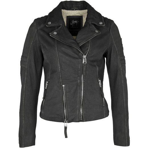 Gipsy Lederjacke »Damen Bikerjacke Shalin 4 SF LNUVW Black«