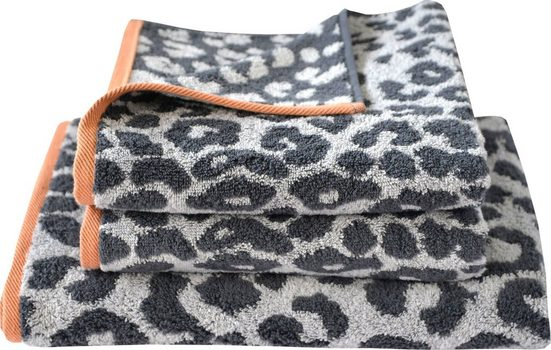 Dyckhoff Handtuch Set »Leo« (Set, 3-tlg), mit Leoparden-Muster