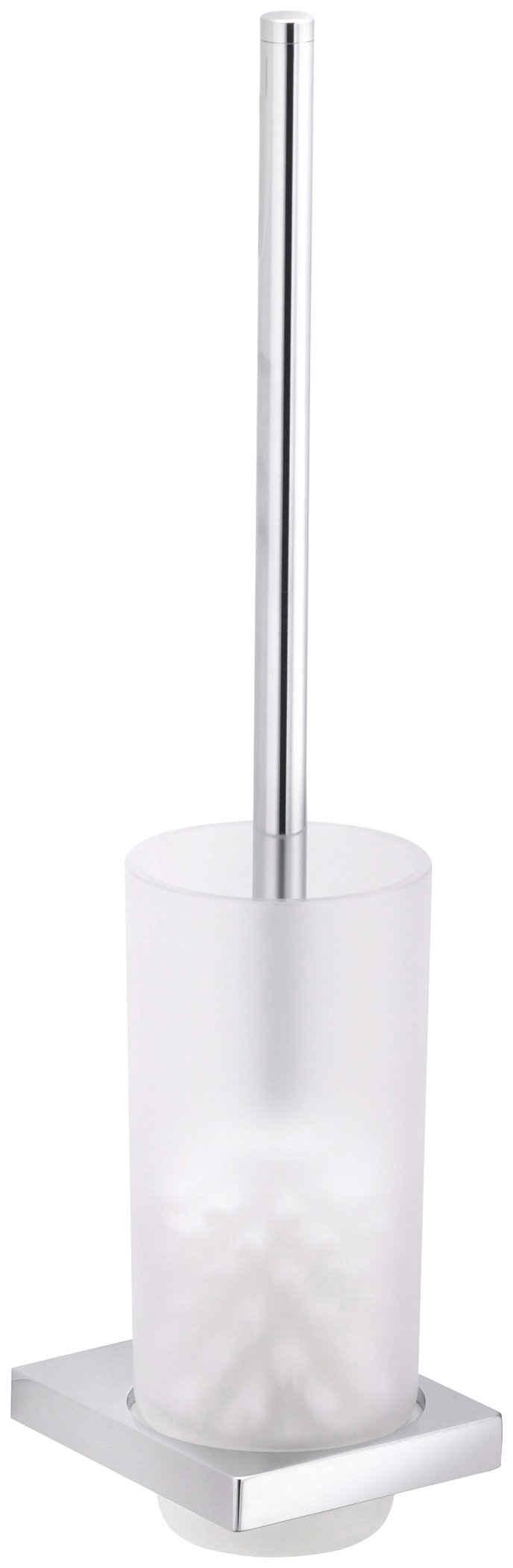 WC-Garnitur »Edition 11«, Keuco, Echtkristall-Glas mattiert, verchromt