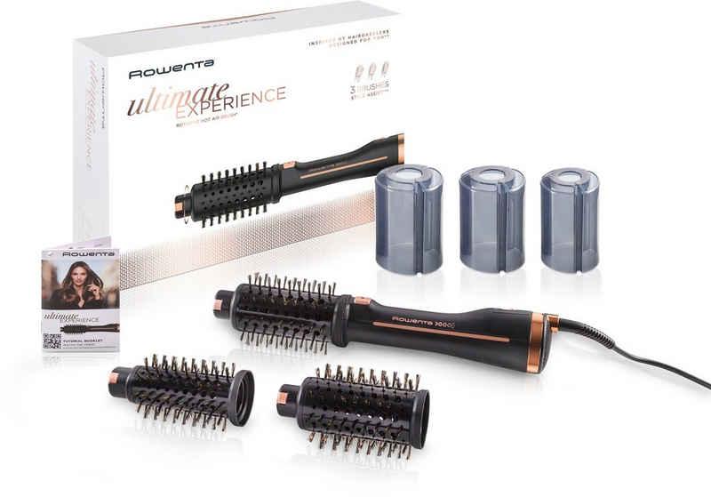 Rowenta Warmluftbürste CF9620 Brush Activ Ultimate Experience, Style Assist Funktion, Keratinbeschichtete Naturborsten