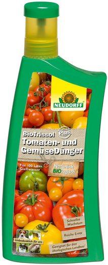 Neudorff Pflanzendünger »BioTrissol Plus Tomaten & Gemüse«, Flüssigdünger, 1 l