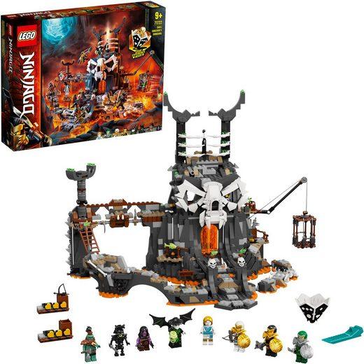LEGO® Konstruktionsspielsteine »Verlies des Totenkopfmagiers (71722), LEGO® NINJAGO®«, (1171 St), auch als Brettspiel verwendbar, Made in Europe