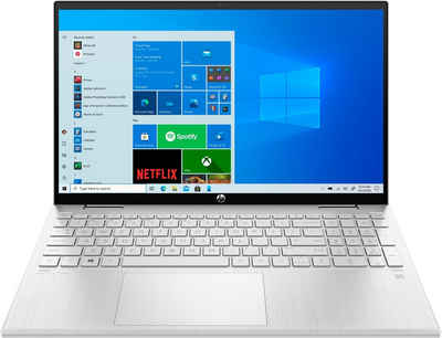 HP Pavilion x360 15-er0032ng Convertible Notebook (39,6 cm/15,6 Zoll, Intel Core i3, GeForce MX450, 256 GB SSD)