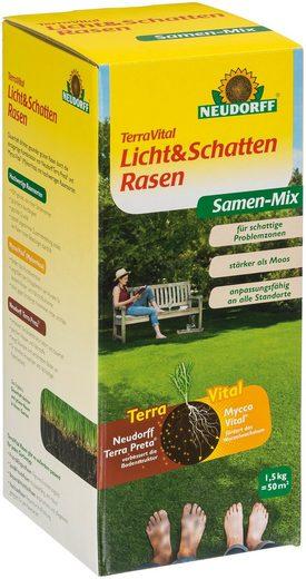 Neudorff Rasensamen »TerraVital Licht&Schatten«, 1.5, 1,5 kg