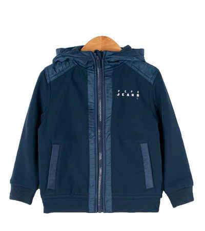 Pepe Jeans Funktionsjacke »Pepe Jeans Jacke stylische Kinder Softshell-Jacke Outdoor-Jacke Spiel-Jacke Blau«