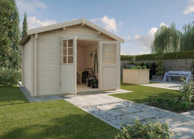 Weka Gartenhaus 132 Gr. 0, BxT: 200x200 cm, natur