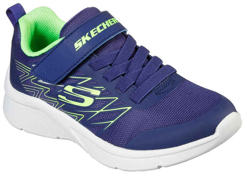 Skechers Kids »MICROSPEC« Sneaker mit Kontrastbesatz