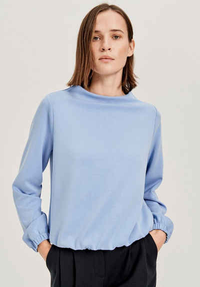 OPUS Sweatshirt »Gabbi« mit elastischem Saum