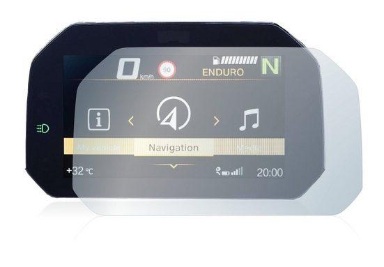 """upscreen Schutzfolie »für BMW F 900 R 2019 Connectivity TFT 6.5""""«, Folie Schutzfolie matt entspiegelt antibakteriell"""