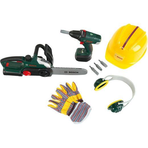 Klein Spielwerkzeug »Bosch Bauarbeiter Set«