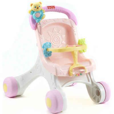 Mattel® Lauflernwagen »Fisher-Price Puppenwagen (rosa), Lauflernwagen«