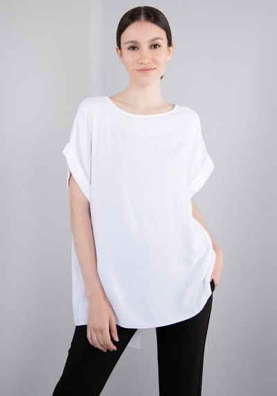 IMPERIAL Longshirt »IMP-8 TE7BBZTD« Asymetrisches 1/2 Arm Blusen - Shirt