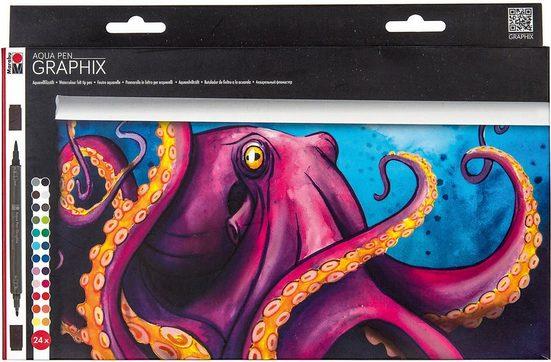 Marabu Malpalette »Aqua Pen Graphix Octopy«