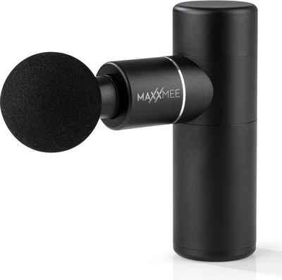 MAXXMEE Massagepistole »MAXXMEE Massagegerät Mini Gun 5V schwarz«, 6-tlg.