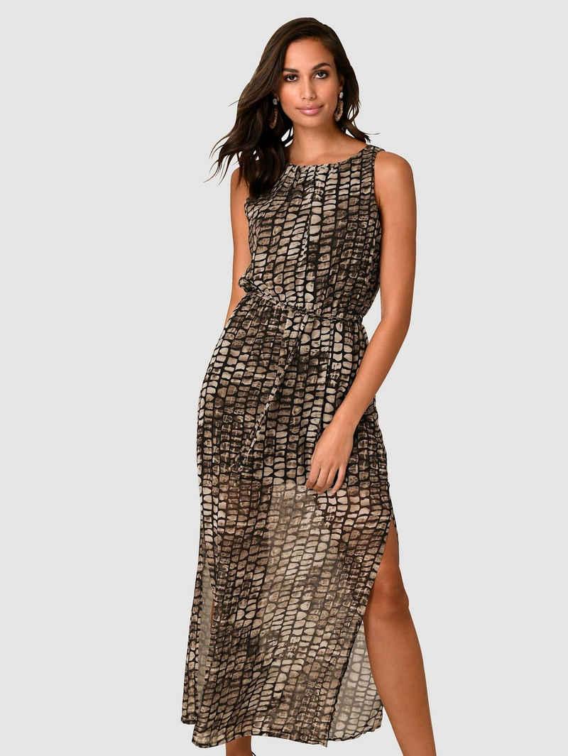 Alba Moda Kleid mit langen Seitenschlitzen