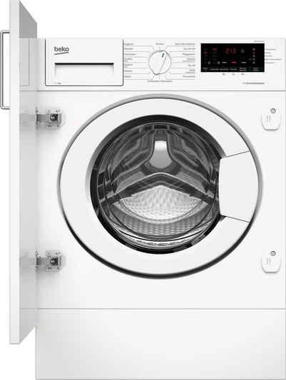BEKO Einbauwaschmaschine WMI71433PTE1, 7 kg, 1400 U/min
