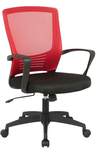 CLP Schreibtischstuhl »Kampen«, höhenverstellbar und drehbar