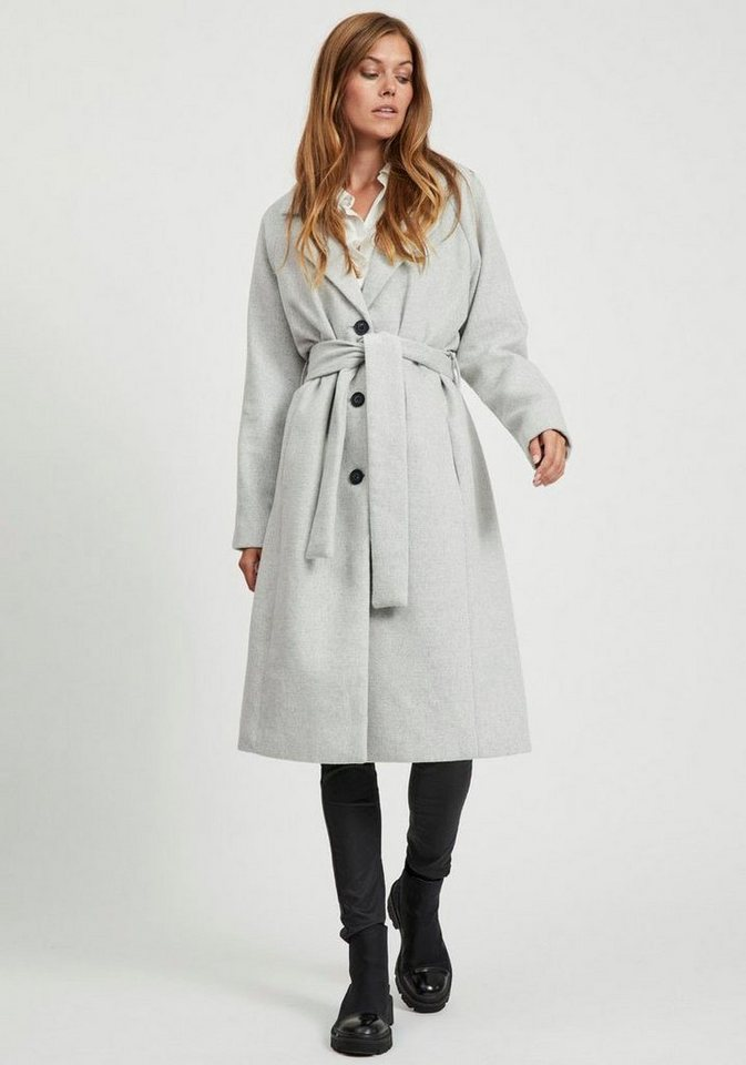 object -  Trenchcoat »OBJLENA« mit recycelter Wolle