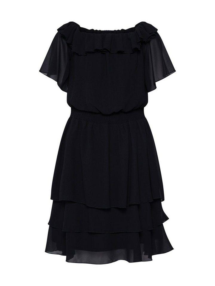 sisters point -  Sommerkleid »NICOLINE-OFF.A« Rüschen