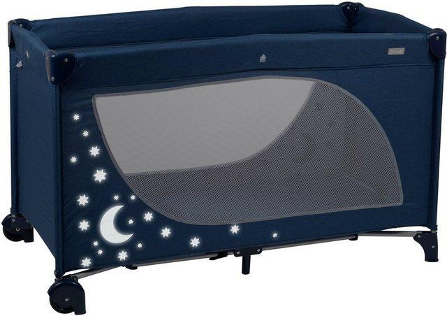 Babybetten - BabyGo Baby Reisebett »Moonstars, navy«  - Onlineshop OTTO