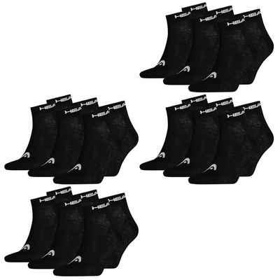 Head Socken »Quarter Unisex 12er Pack« (12-Paar) mit Logoripbund