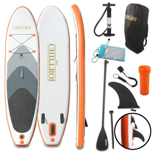CHILLROI SUP-Board »CHILLROI Stand-Up Paddling Board Set Aufblasbares SUP-Board Surfboard 297 cm«