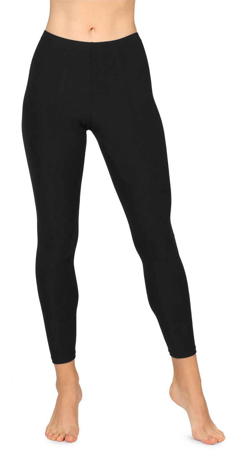 Merry Style Leggings »Damen Lange Leggings MS10-348« (1-tlg) elastischer Bund