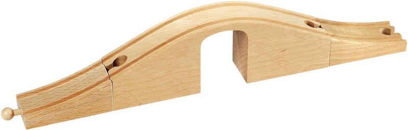 BRIO® Spielzeugeisenbahn-Brücke »BRIO® WORLD Unterführung«, FSC®-Holz aus gewissenhaft bewirtschafteten Wäldern
