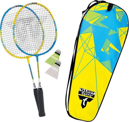 """Talbot-Torro Badmintonschläger »Talbot-Torro Badminton Set """"2 Attacker Junior""""«"""