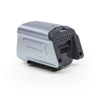 Klarstein Akku-Hand-und Stielstaubsauger Clean Butler 4G Silent Akkustaubsauger Akku 22,2 V/2.200 mAh silber, 0 Watt