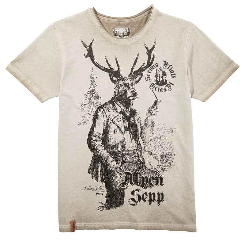MarJo Trachtenshirt mit Print
