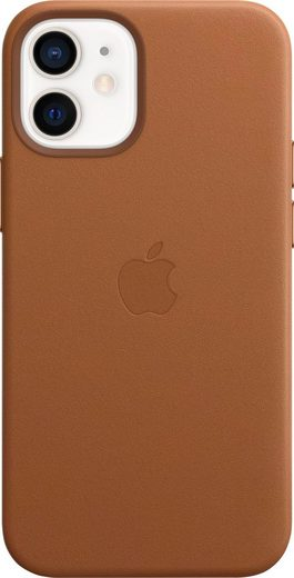 Apple Smartphone-Hülle »iPhone 12 mini Leder Case mit MagSafe«