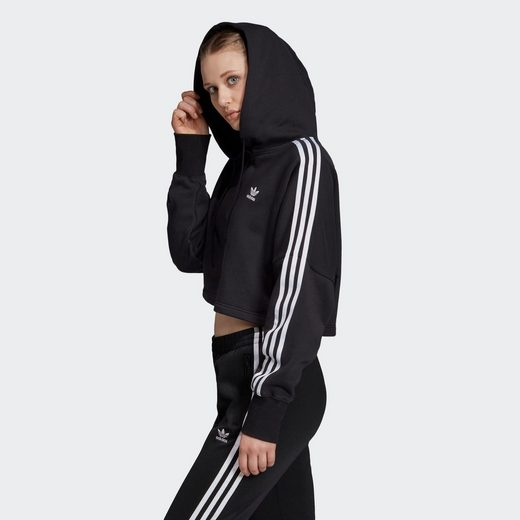 Großer Rabatt adidas Originals Kapuzensweatjacke »Cropped Hoodie«