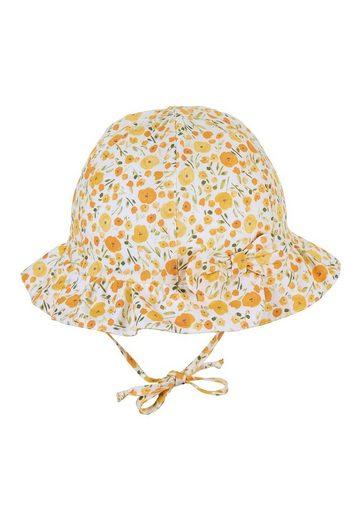 Sterntaler® Sonnenhut »Hut« aus Bio-Baumwolle; mit Größenregulierungsband und Bindeband