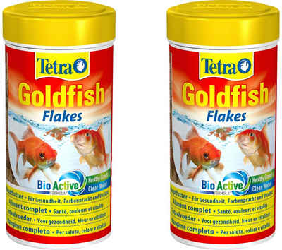 Tetra Fischfutter »Goldfish«, Flockenfutter 2x250 ml