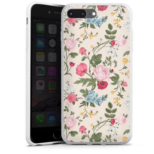 DeinDesign Handyhülle »Vintage Beauty« Apple iPhone 8 Plus, Hülle Vintage Ornamente Blume