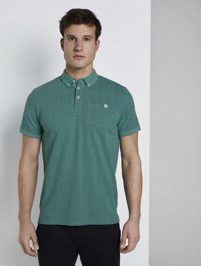 TOM TAILOR Poloshirt »Gemustertes Poloshirt«