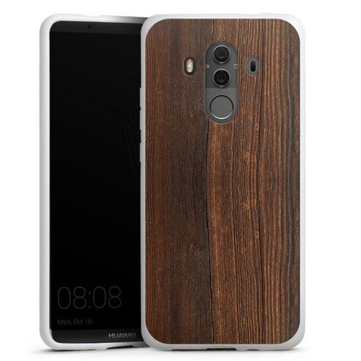 DeinDesign Handyhülle »Nußbaum Holzlook« Huawei Mate 10 Pro, Hülle Nussbaum Holzoptik Holz