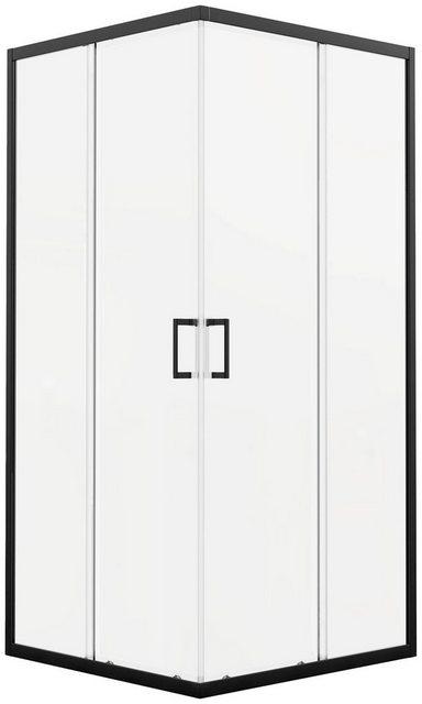Duschen und Zubehör - Marwell Eckdusche »City«, BxT 90x90 cm, Einscheibensicherheitsglas, Komplett Set, 1 tlg., mit Schiebetür  - Onlineshop OTTO