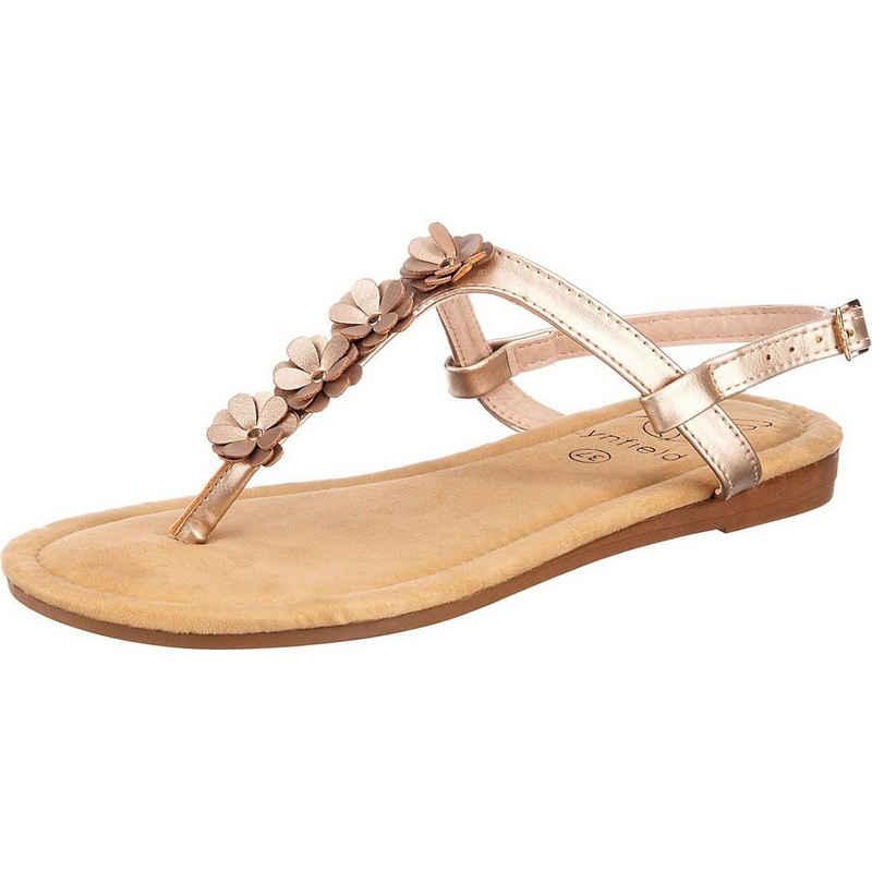 Lynfield »Limited Fashion Metallic T-Steg-Sandale« T-Strap Pumps