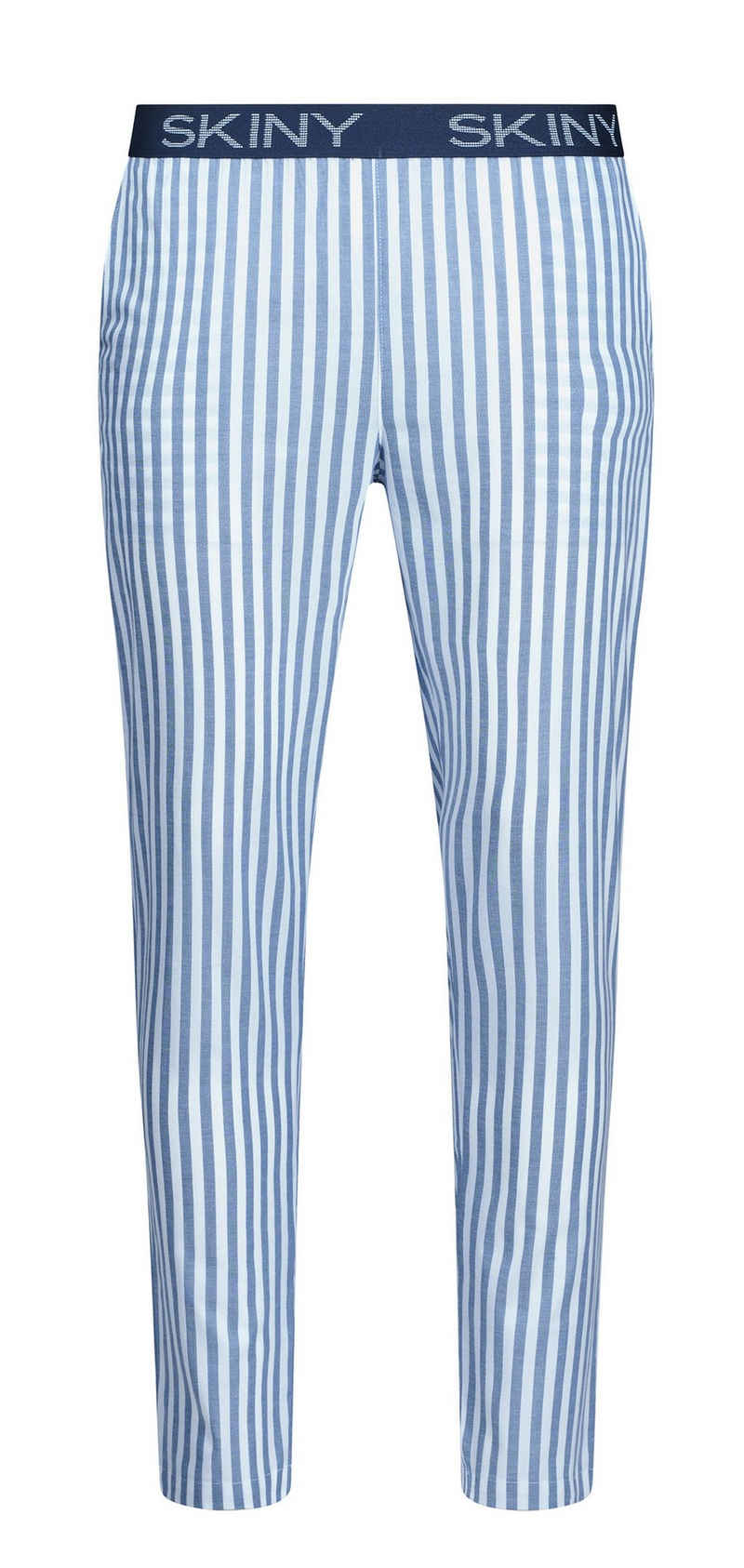 Skiny Pyjamahose »Skiny Herren Schlafanzughose« (1-tlg) Baumwolle