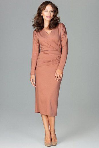 LENITIF Jerseykleid in femininem Design