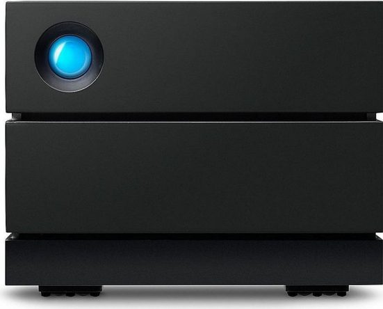LaCie 2big RAID 16TB Thunderbolt 3 USB-C NAS-Server (externe Festplatte, 3.5)