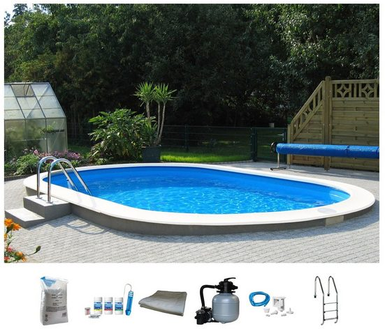 BWT MY POOL Ovalpool »Premium« (Set)
