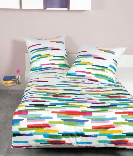 Wendebettwäsche »modern art 42069«, Janine, mit Reißverschluss